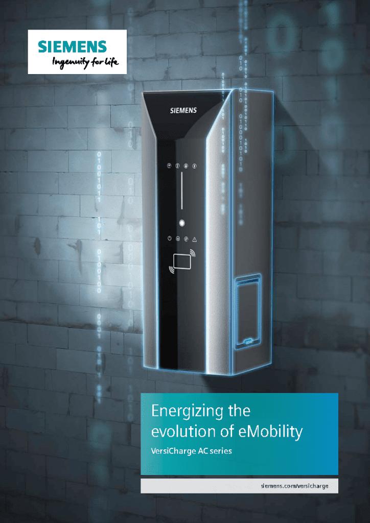 Siemens VersiCharge Gen 3 Brochure